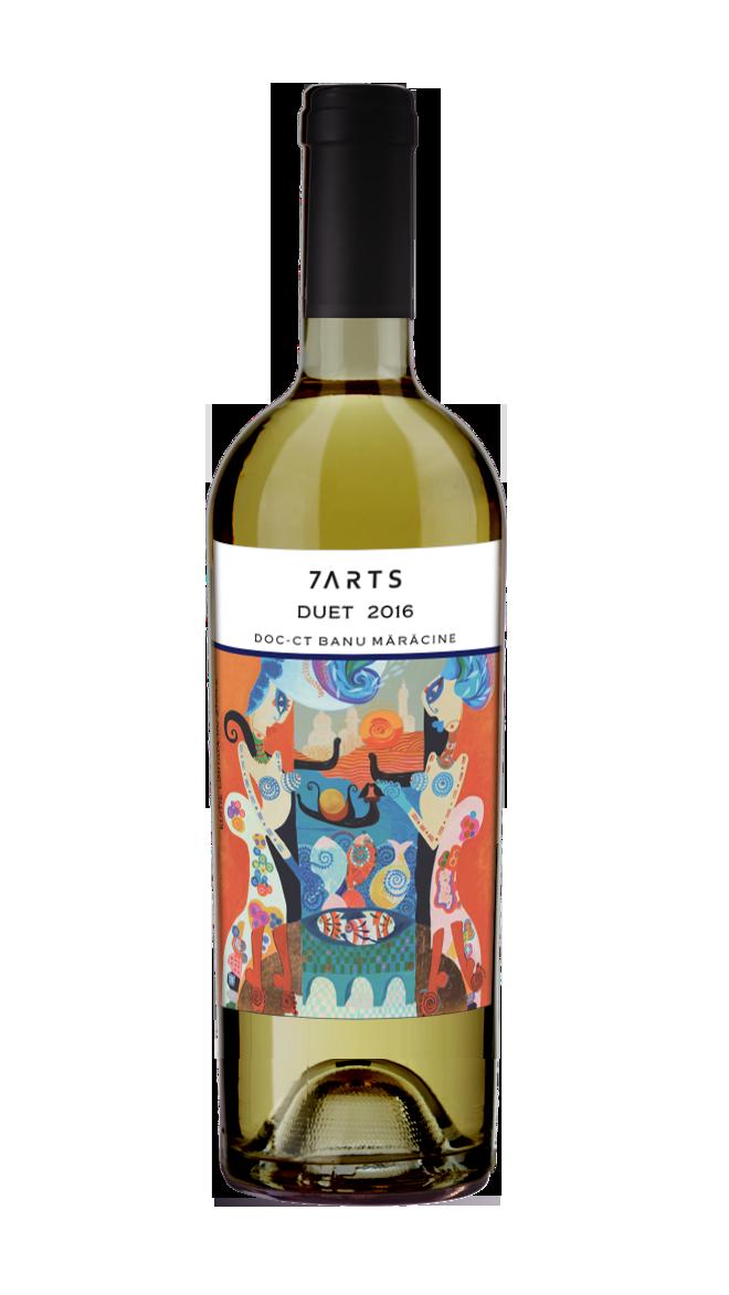 vin cadou, vin alb, vinuri cadou, vin online, 7arts, crama romaneasca, sauvignon blanc, feteasca alba, cupaj, vin romanesc, vinuri romanesti