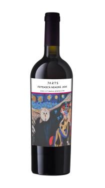 7arts, vin rosu, feteasca neagra, vin romanesc, cado online, vin online, idee cadou