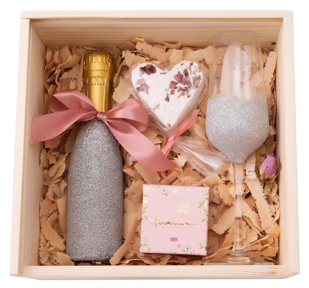 Pachet Cadou Paste Pink Sparkle, pachet paste, pachet cadou paste, cadou paste, vin paste